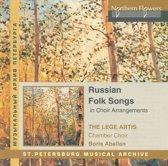 Russian Folk Songs (In Choir Arrang