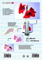 1x25 Olympia Lamineerfolie DIN A4 125 micron