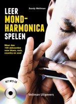 Omslag van 'Leer mondharmonica spelen'