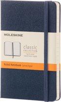 Moleskine Classic Notebook - Pocket - Ruled - Hard Cover - Sapphire Blue