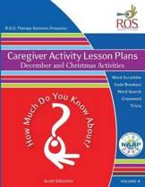 Caregiver Activity Lesson Plan