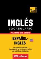 Vocabulario Español-Inglés americano - 9000 palabras más usadas