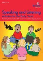 Speaking and Listening Activities for the Early Years