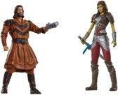 Warcraft Mini Figures - Lothar vs Garona