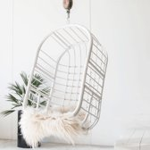 Witte Rieten Hangstoel.Bol Com Witte Rotan Tuinstoel Kopen Kijk Snel