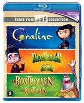 De Boxtrollen & Coraline & ParaNorman (3D Blu-ray)