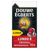Douwe Egberts Lungo Original Koffiecups - 10 x 10 cups - 100 koffiecups