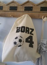 Rugtasje eigen naam cijfer voetbal