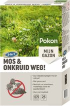 Pok Mos en Onkruid Weg! 25m2 (3 in 1)