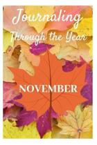 Journaling Through the Year November