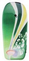 Bodyboard - Groen -Surfboardje - Surfboard - Surfbord - 93cm - Inclusief touw met enkelband