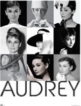 Audrey Hepburn-poster-collage-Large-70x100cm.