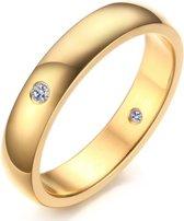 Cilla Jewels edelstaal ring Diamond Gold