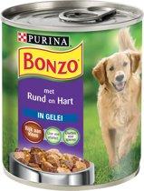 Bonzo Blik Rund/Hart - 12 x 800 gr