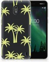 Nokia 2 Uniek TPU Hoesje Palmtrees