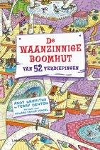 Boekomslag van 'De waanzinnige boomhut 4 - De waanzinnige boomhut van 52 verdiepingen'