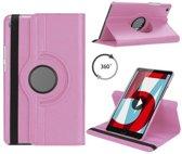 Huawei MediaPad M5 8.4 draaibare hoes Roze
