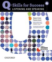 Q: Skills for Success- Listening and Speaking 4 student book + online practice