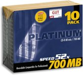 Platinum CD-R 700 MB 10er Slimcase