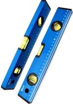Hofftech Waterpas 30 cm Blauw Met 3 Libellen
