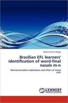Brazilian Efl Learners' Identification of Word-Final Nasals M-N