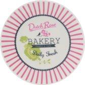 Dutch Rose Petit four Bakery - Rood - Ø 12 cm - 2 stuks