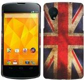 LG Nexus 5 - hoes cover case - PC - UK Flag