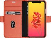 MODE. bookcover Milano - rusty rose - voor Apple iPhone X/Xs