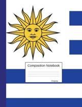 Composition Notebook Uruguay