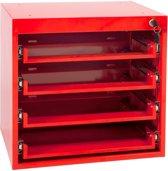 4Tecx Ladesysteem voor 13 vaks Assortimentskoffers