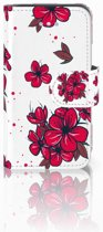 iPhone 4 | 4S Boekhoesje Design Blossom Red