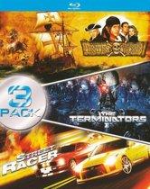 Pirates Treasure Island - The Terminaters - Streetracer - (Blu-ray)