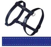 Rogz For Dogs Lumberjack Hondentuig - Blauw - 25 mm x 60-101 cm