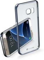 Cellularline CLEAR CRYSTAL mobiele telefoon behuizingen 12,9 cm (5.1'') Hoes Zwart, Transparant