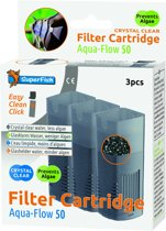 SuperFish Aqua-Flow 50  Filtercartridge - Crystal Clear