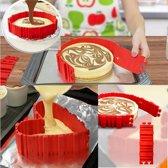 Flexibele siliconen bakvorm 'Bake Snake' voor taarten, cakes, brood in diverse vormen