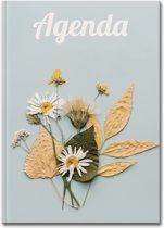 Lerarenagenda/Docentenagenda 2019-2020 Hardcover Flower Power