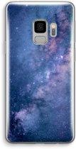 Samsung Galaxy S9 Transparant Hoesje (Soft) - Nebula
