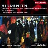 Hindemith: Concert Music, Violin Concerto etc / Kavakos, Tortelier, BBC PO