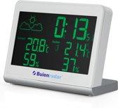 Buienrader BR-600 Buienradar weerstation - Meet binnen-en buitentemperatuur met radio gestuurde klok