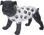 Bulldog 24 cm zwart
