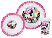 Trudeau Eetsetje Minnie Mouse 3-delig Wit
