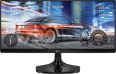 LG 25UM58 25'' Full HD LED Zwart computer monitor