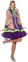 Venetie & Gemaskerd Bal Kostuum | Musical Artiest Show Jas Vrouw | Maat 46 | Carnaval kostuum | Verkleedkleding