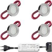 led onderbouwverlichting keuken malmo keukenverlichting verlichting keukenkastjes 2w rond 230v
