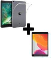 iPad Air 1 Hoesje Siliconen Hoes Case Transparant Met Screenprotector