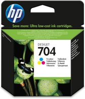 HP 704 ink cartridge tri-colour standard