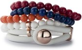 By LouLou B2071WHP - Armband - Brons verguld