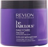 Revlon Be fabulous daily care fine hair lightweight mask 500ml