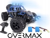 Overmax X-Flash - RC Auto 4x4 met olie geveerde ophanging incl 2 accu's